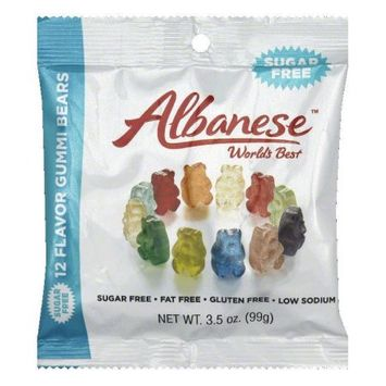 Albanese Confectionery Albanese Gummi Bears 12 Flavor 3.5 Oz. - Case of 12