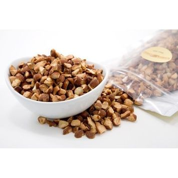 Superior Nut Company Roasted and Chopped Almonds (1 Pound Bag)