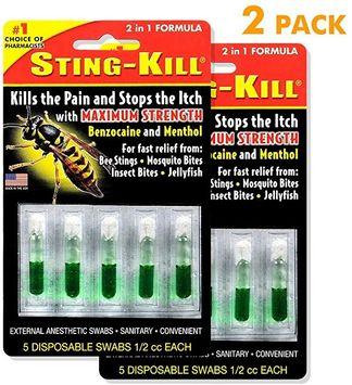 Sting-Kill Disposable Swabs