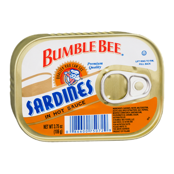 Bumble Bee Sardines in Hot Sauce