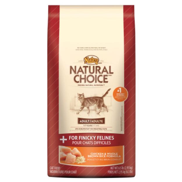 Nutro Natural Choice NUTROA NATURAL CHOICEA For Finicky Felines Adult Cat Food