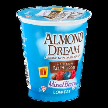 Almond Dream Almond Non-Dairy Yogurt Low Fat Mixed Berry