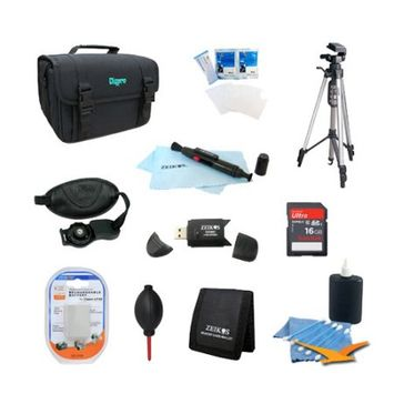 Special Fully Loaded Value Tripod & LP-E8 Battery Kit for Canon Rebel T5I T4i, T3i & T2i