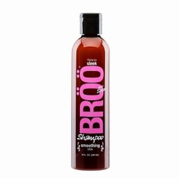 Broo - Shampoo Smoothing I.P.A. Silky Spice - 8 oz.