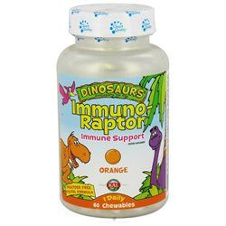 KAL Dinosaurs Immuno Raptor - 60 Chewable Tablets - Other Supplements