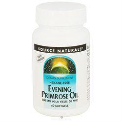 Source Naturals - Evening Primrose Oil 500 mg. - 60 Softgels