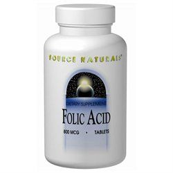 Source Naturals Folic Acid 800 mcg Tabs
