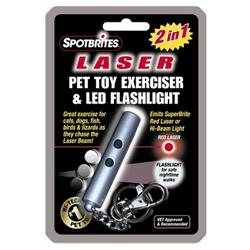 Ethical Pet Two-in-One Laser Dog Toy
