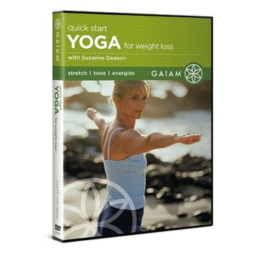 Gaiam Yoga Quick Start Yoga for Weight Loss DVD with Suzanne Deason