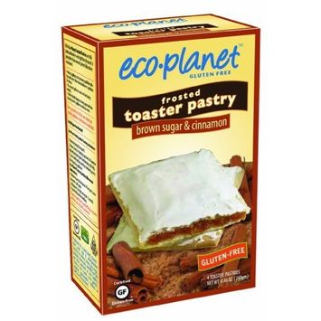 eco-planet Frosted Toaster Pastries, Brown Sugar and Cinnamon, 7-Ounce Boxes (Pack of 6)