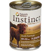 Nature's Variety Instinct Can Dog Duck 13.2 oz