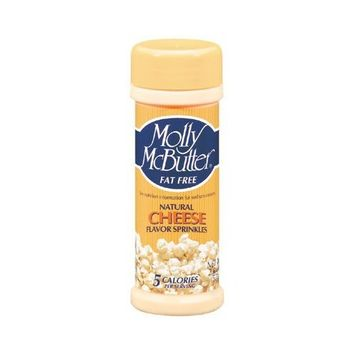 Molly McButter Natural Cheese Flavor Sprinkles: 2 OZ