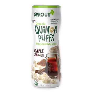 Sprout Organic Puffs Maple Cinnamon