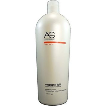 AG Hair Cosmetics Conditioner Light Protein Enriched for Unisex, 33.8 Ounce