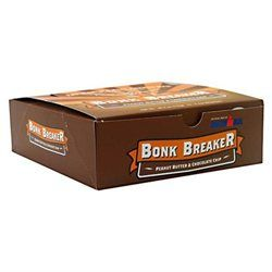 Bonk Breaker Energy Bars Peanut Butter and Chocolate Chip - 12 Bars