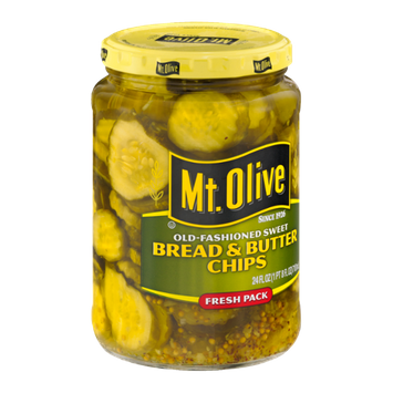 Mt. Olive Bread & Butter Chips Old-Fashioned Sweet