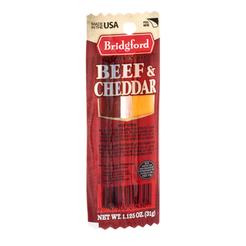 Bridgford Beef & Cheddar