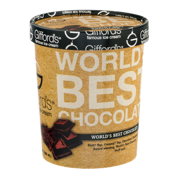 Giffords's Famous Ice Cream World's Best Chocolate
