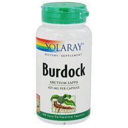 Solaray - Burdock Root 425 mg. - 100 Capsules