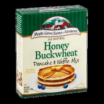 Maple Grove Farms of Vermont Pancake & Waffle Mix Honey Buckwheat