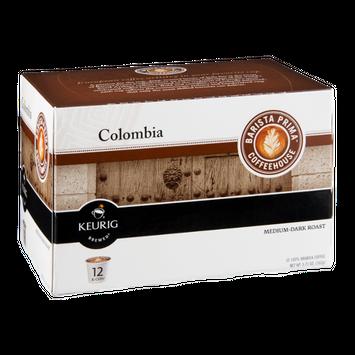 Barista Prima Coffeehouse Keurig Columbia Medium-Dark Roast K-Cups - 12 CT