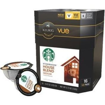 Keurig Vue Starbucks House Blnd 16 pack- each 0.42 oz