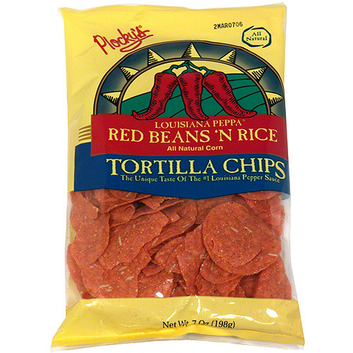Plocky's Louisiana Peppa Red Beans N Rice Tortilla Chips