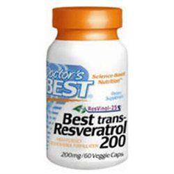 Doctor's Best Best trans-Resveratrol 200