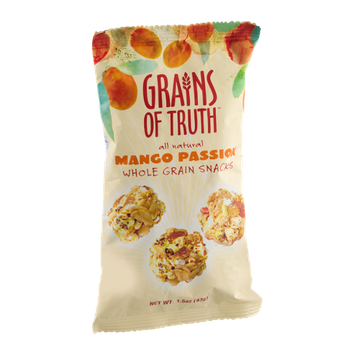 Grains Of Truth Whole Grain Snacks Mango Passion