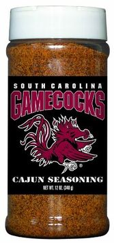 South Carolina Gamecocks Cajun Seasoning Hot Sauce Harry's