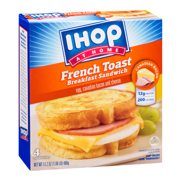 IHOP At Home French Toast Breakfast Sandwich - 4 CT