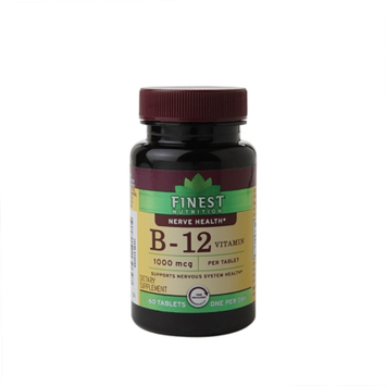 Finest Nutrition Vitamin B12 1000Mcg Time Release Tablets