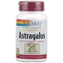 Solaray Astragalus Root Extract - 200 mg - 30 Capsules