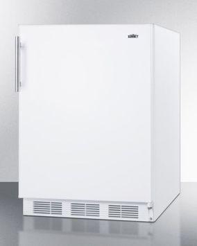 Summit FF61 5.5 Cu. Ft. White Compact Refrigerator