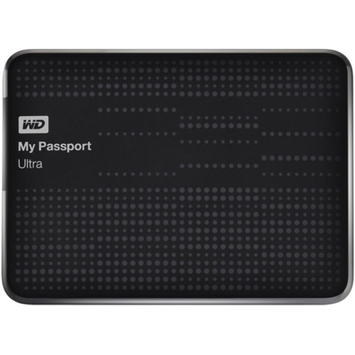 Western Digital WD My Passport Ultra 2TB Portable External Hard Drive, Black