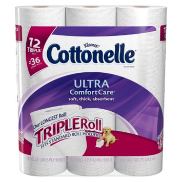 Cottonelle® Ultra ComfortCare® Toilet Paper