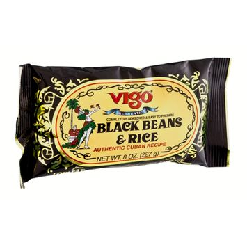 Vigo Authentic Cuban Recipe Low Fat Black Beans & Rice