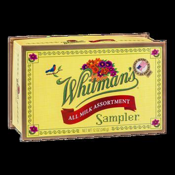 Whitman's Sampler All Milk Assortment