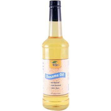 Oskri Organics Oskri Sesame Seed Oil, 25.5-Ounce Bottles (Pack of 12)