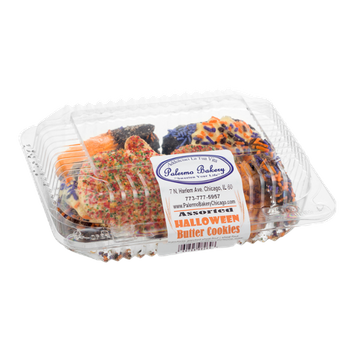 Palermo Bakery Assorted Halloween Butter Cookies