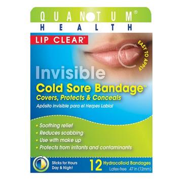 Quantum Lip Clear Invisible Cold Sore Bandage