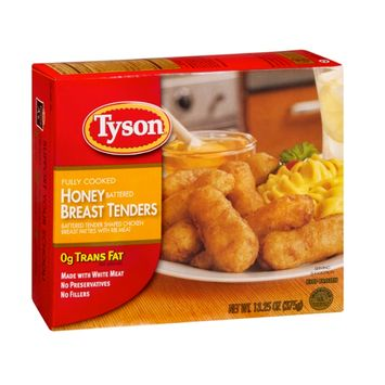 Tyson Breast Tenders Honey Battered