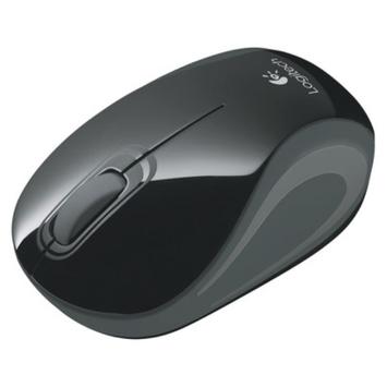 Logitech M187 Cordless Mini Mouse - Black (910-002720)