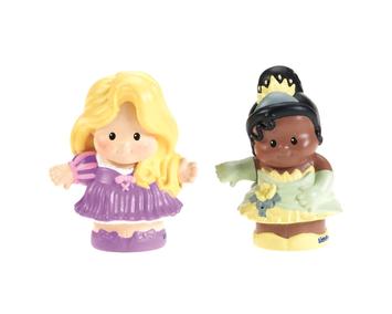 Mattel, Inc. Little People Disney Princess 2-Pack Rapunzel & Tiana