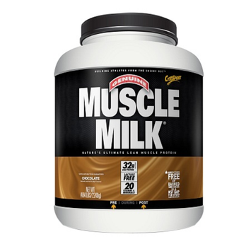 CytoSport Muscle Milk Protein Powder, Chocolate Milk, 4.96 lbs