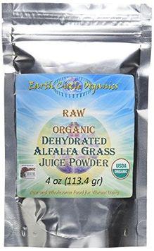 Earth Circle Organics - Dehydrated Alfalfa Grass Juice Powder - 4 oz.