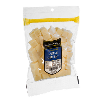 Madison Valley Farms Swiss Cheese Cubed