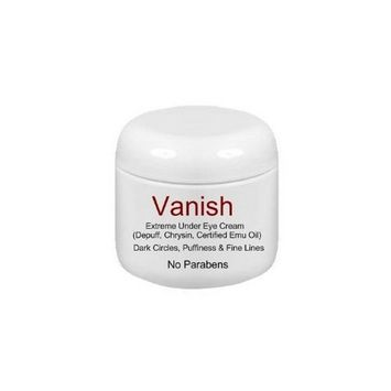 Direct 2U Wholesale Vanish Extreme Under Eye Cream for Dark Circles and Puffiness / 1/2oz - 1 Month Supply -Watts Beauty