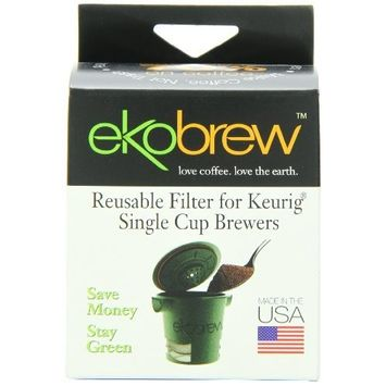 Ekobrew Cup, Refillable Cup for Keurig K-Cup Brewers, 1-Count