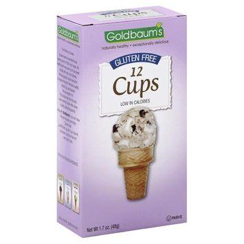 Goldbaums ICE CREAM CONE, CUP, GF, (Pack of 12)